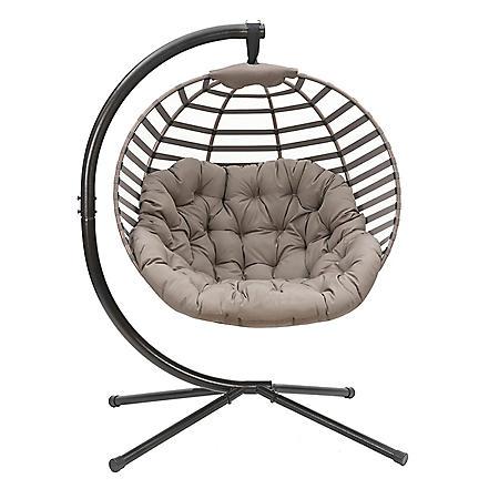 Hanging Ball Chair (Modern Sand)