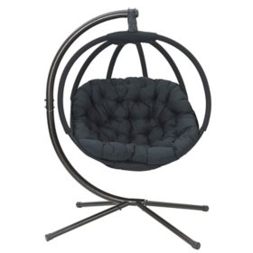 Hanging Ball Chair (Overland Black)