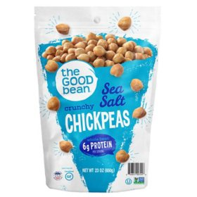 The Good Bean Sea Salt Crunchy Chickpeas (23 oz.)
