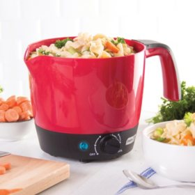 Dash Express Hot Pot Multi Cooker with Temperature Control, 4-Cup Capacity (Assorted Colors)