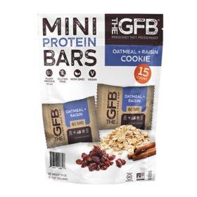 The GFB Oatmeal Raisin Mini Bars (15 ct.)