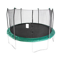 Skywalker Trampolines 15' Round Trampoline and Enclosure - Green