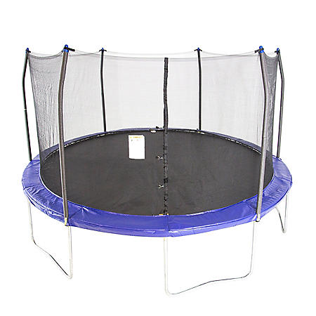 Skywalker Trampolines 15' Round Trampoline and Enclosure