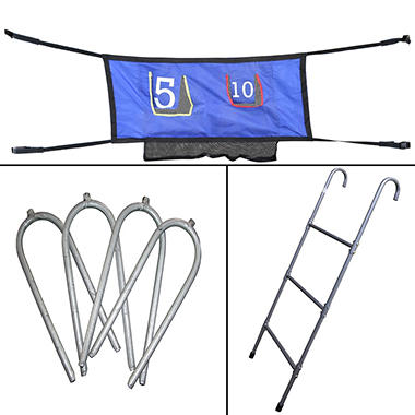 Skywalker Trampolines 3 Rung Ladder and Game Kit