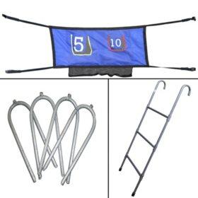 Skywalker Trampolines 3 Rung Ladder and Game Kit