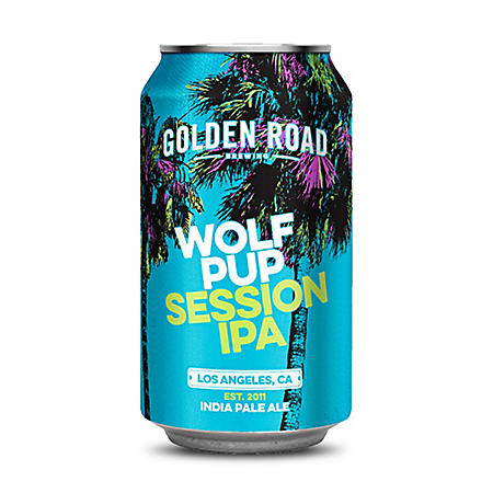 Golden Road Wolf Pup Session IPA (12 fl. oz. can, 6 pk.)