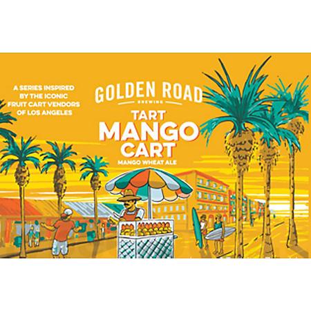 Golden Road Mango Cart Wheat Ale (12 fl. oz. can, 6 pk.)
