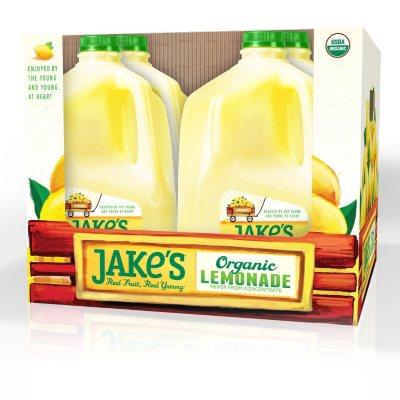 Jakes Organic Lemonade 1 Gallon Sam S Club