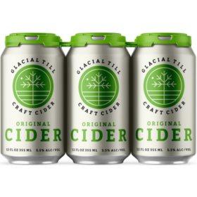 Glacial Till Original Cider (12 fl. oz. can, 6 pk.)