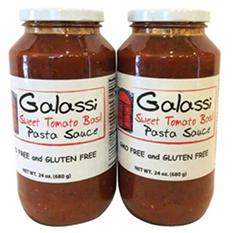 Galassi Sweet Tomato Basil Pasta Sauce (24 oz., 2 pk.)