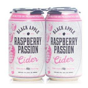 Black Apple Wild Berry Cider (12 fl. oz. can, 4 pk.)