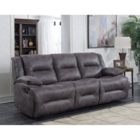 Harvey Three-Seat Dual Reclining Sofa