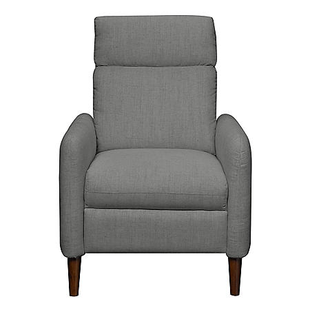 Addison Mid-Century Modern Press-Back Recliner (Assorted Colors)