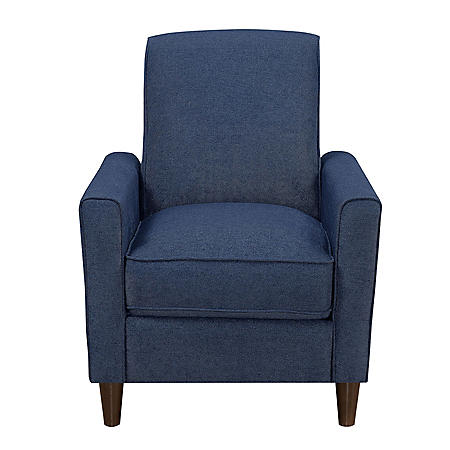 Stella Mid-Century Modern Press-Back Recliner (Assorted Colors)