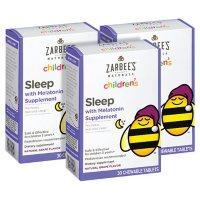 Zarbee's Naturals Children's Sleep Tablets with Melatonin (30 ct., 3 pk.)