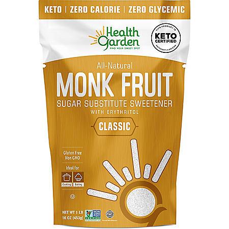 Health Garden Monk Fruit Sweetener (1 lb.)