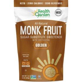 Health Garden Monk Fruit Golden Sweetener (1 lb.)