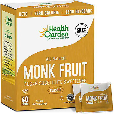 Health Garden Monk Fruit Sweetener (40 ct.)