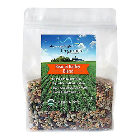 Organic 17-Bean and Barley Blend