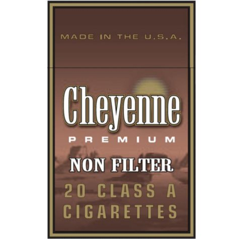 Cheyenne Non-Filter  King Soft Pack 1 Carton