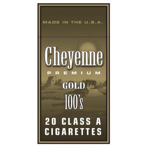 Cheyenne Gold 100 Box 1 Carton