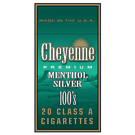 Cheyenne Menthol 100s Box (20 ct., 10 pk.)