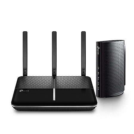 TP-LINK AC2300 Wireless Dual Band Gigabit Router and DOCSIS 3 0