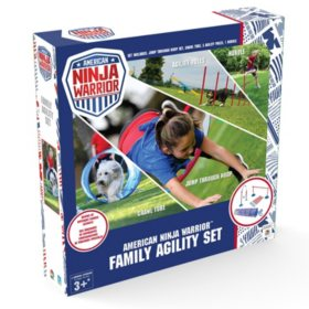 American Ninja Warrior Family Agility Set