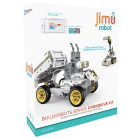 Jimu Robot BuilderBots Series: Overdrive Kit US