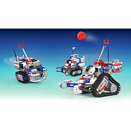 UBTECH JIMU Robot Competitive Series: ChampBot Kit/ App-Enabled Building and Coding STEM Kit (522 pcs)