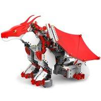 UBTECH JIMU Robot Mythical Series: FireBot Kit / App-Enabled Building and Coding STEM Kit (606 pcs)
