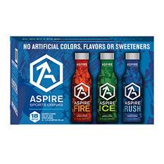 Aspire Sports Drink Variety Pack (12 fl. oz. bottles, 18 pk.)
