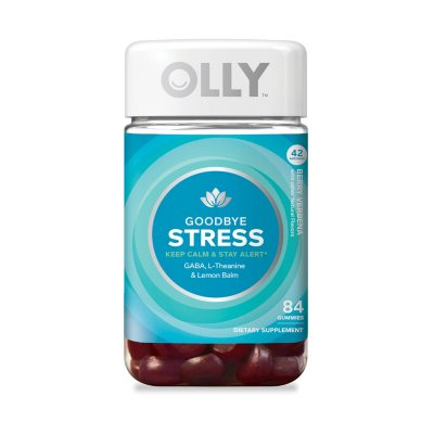Olly Goodbye Stress 84 Ct Sam S Club