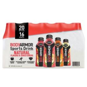 BODYARMOR Sports Drink Variety Pack (16oz / 20pk)