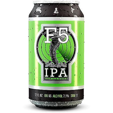 Coop Ale Works F5 IPA (12 fl. oz. can, 24 pk.)