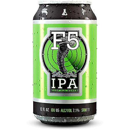Coop Ale Works IPA (12 fl. oz. can,  12 pk.)