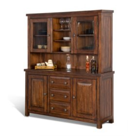 Napa Buffet And Hutch, Vintage - 2 Pc.