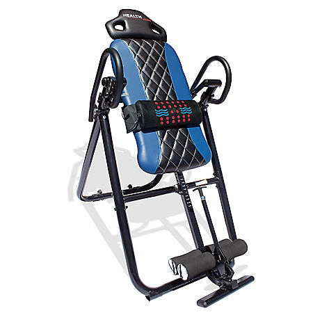 Health Gear HGI 4.2 Patent Pending Diamond Edition Heat & Vibration Massage Inversion Table (Choose Color)