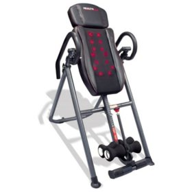 Health Gear ITM7.0-S  Patented Deep Tissue Shiatsu Heat & Massage Inversion Table