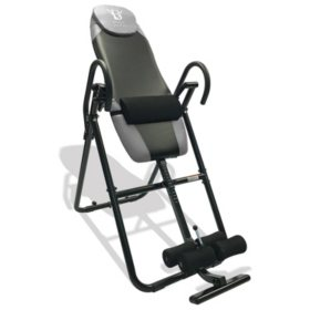 Body Vision IT9825 Premium Inversion Table with Adjustable Head Pillow & Lumbar Support Pad