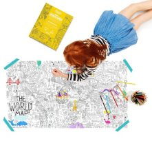 Big Fold Out Coloring Poster Kit
