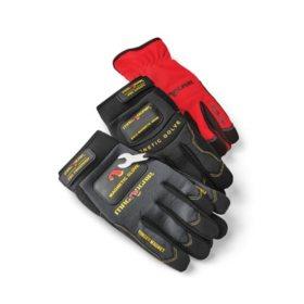 MagnoGrip 3-Pair Pack Premium Magnetic Gloves - Large