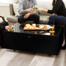 Surprising Sobro Smart Coffee Table With Refrigerator Drawer Assorted Inzonedesignstudio Interior Chair Design Inzonedesignstudiocom