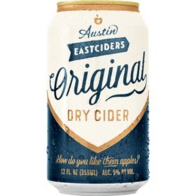 Austin Eastciders Original Dry Cider (12 fl. oz. can, 6 pk.)