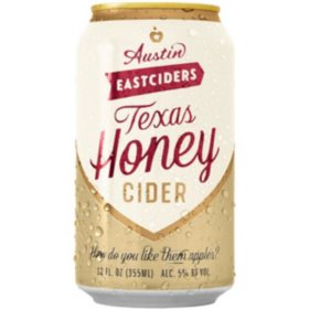 Austin Eastciders Texas Honey Cider (12 fl. oz. can, 6 pk.)