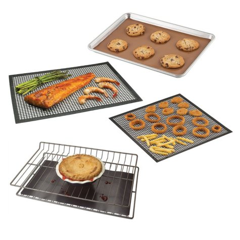 Chef's Planet Nonstick Liners/Mats Value Pack (4 count)