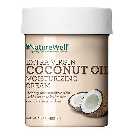 NatureWell Extra-Virgin Coconut Oil Moisturizing Cream (16 oz.)