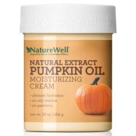 Naturewell Natural Extract Pumpkin Oil Moisturizing Cream (16 oz.)