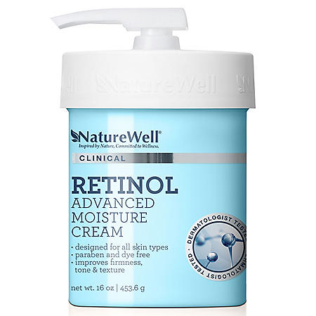 NatureWell Clinical Retinol Advanced Moisture Cream (16 oz.)