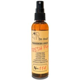 Dr. Sniff Freshening Spritz for Dogs or Cats, 4 oz. (Choose Your Scent)
